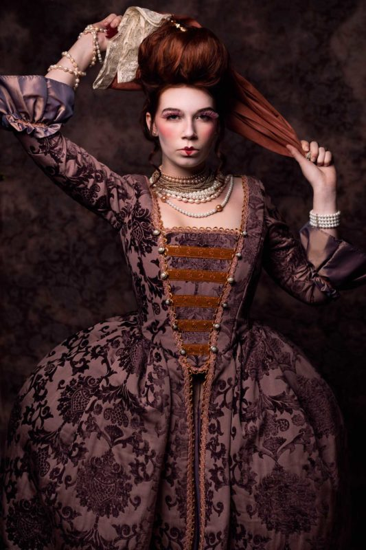 Baroque Fashion Photography