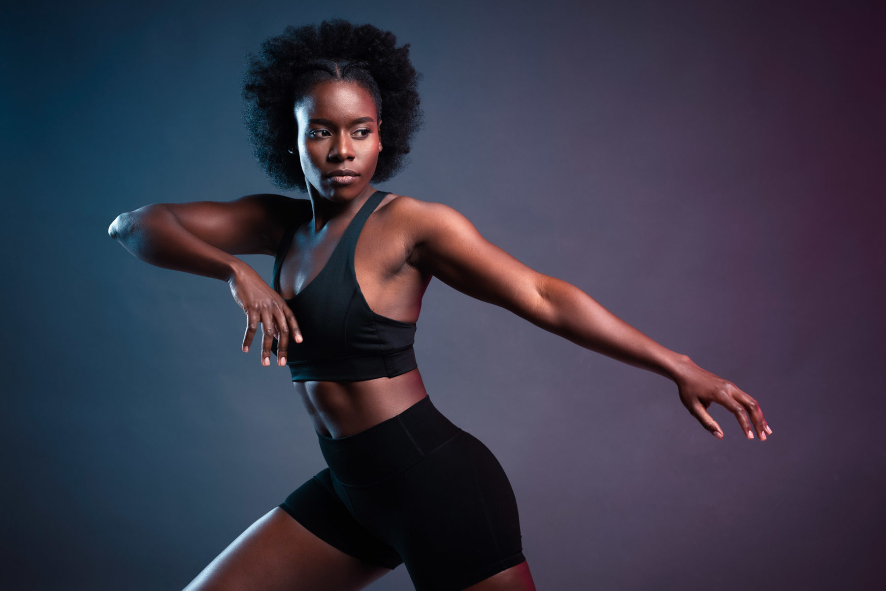 Fitness and activewear photography and modeling